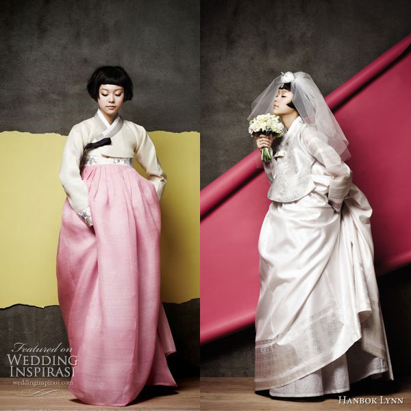 Hanbok Lyn - the traditional korean wedding or ceremonial dress