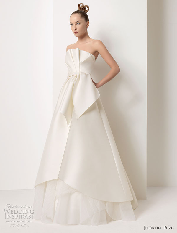 Jesús del Pozo Wedding Dress 2011 Collection | Wedding Inspirasi