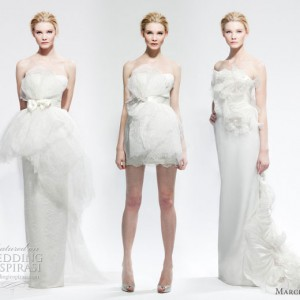 Marchesa wedding dress - gowns in 3 styles from Marchesa Bridal Fall Winter 2010 - 2011 collection