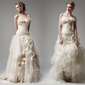 Pallas Couture 2010 bridal collection -- Marjolein, Elzette wedding gown