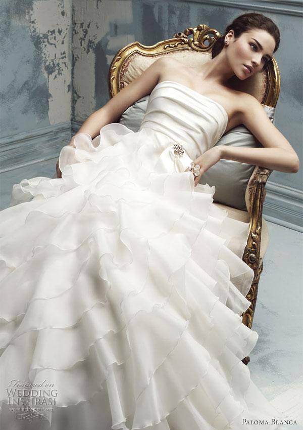 Paloma blanca wedding dresses 2010 wedding inspirasi