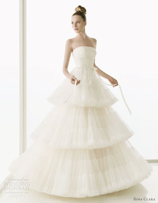 rosa clar 2011 beautiful wedding dresses wedding inspirasi