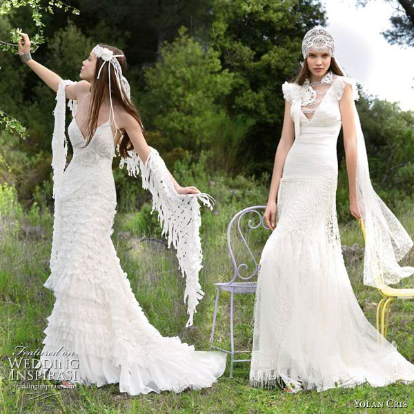 Hippie Chic Wedding Dresses : Vintage hippie wedding dresses