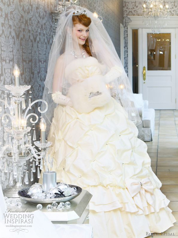 Barbie Bridal Wedding Dress 2010 | Wedding Inspirasi