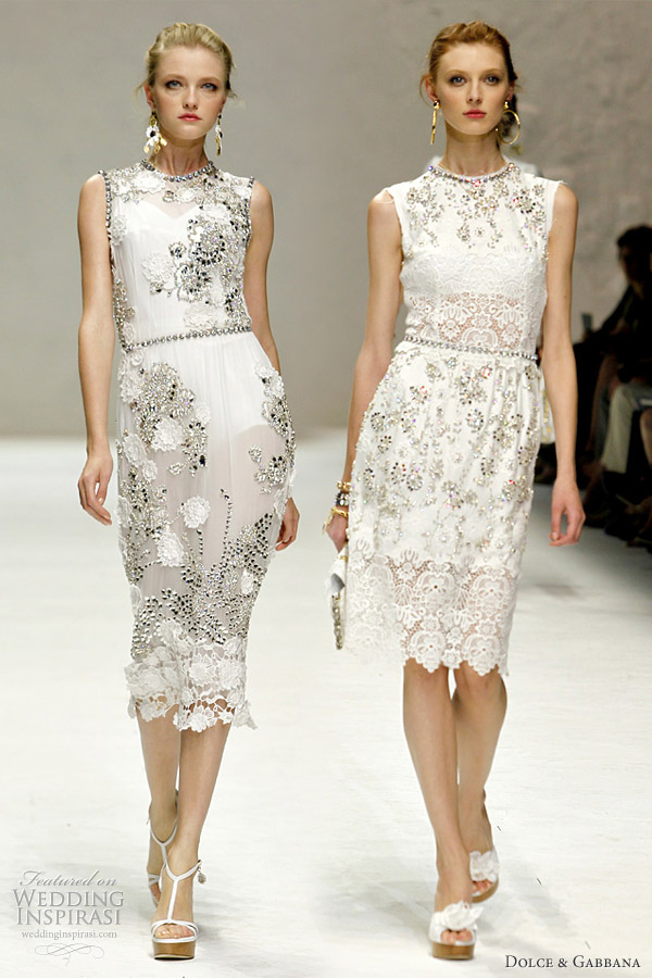 1150870f Dolce & Gabbana Spring/Summer 2011 Ready-to-Wear | Wedding Inspirasi