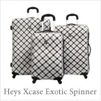 Buy Heys Xcase Exotic Spinner Wheeled Luggage Set in Plaid