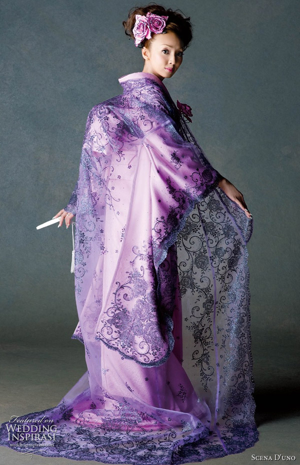 Bridal Gowns Japan : Bridal gowns kimono