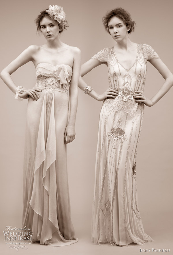 Jenny Packham wedding gown 2011 bridal dress collection -- Fontaine, Eden