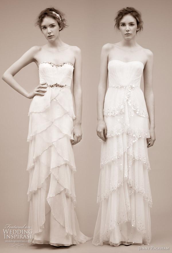 Jenny Packham Wedding Dress Spring Summer 2011 Wedding Inspirasi