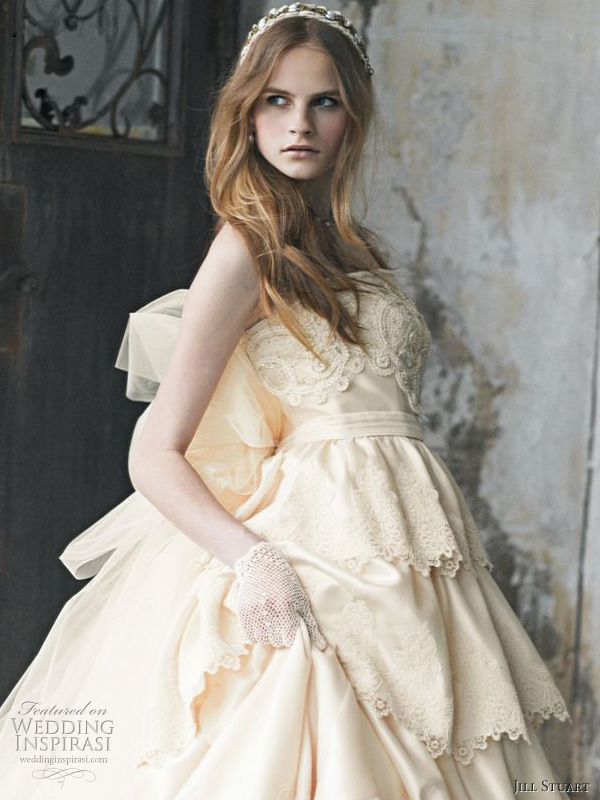 Jill Stuart Romantic Wedding Dresses 2014 Wedding Inspirasi
