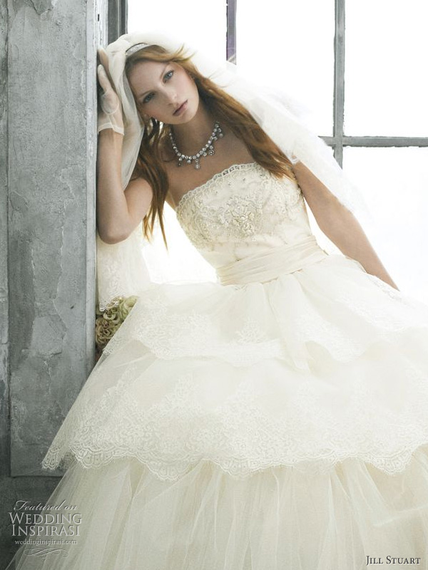 Jill Stuart Romantic Wedding Dresses 2010 | Wedding Inspirasi
