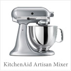 Buy KitchenAid Artisan 5-Quart Stand Mixer in Metallic Chrome