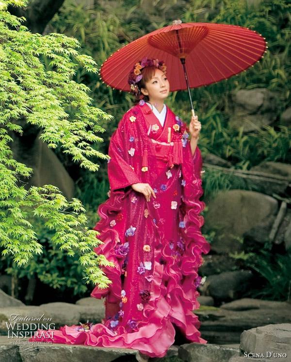 Colorful Wedding Kimono From Scena D Uno 2010 Wedding