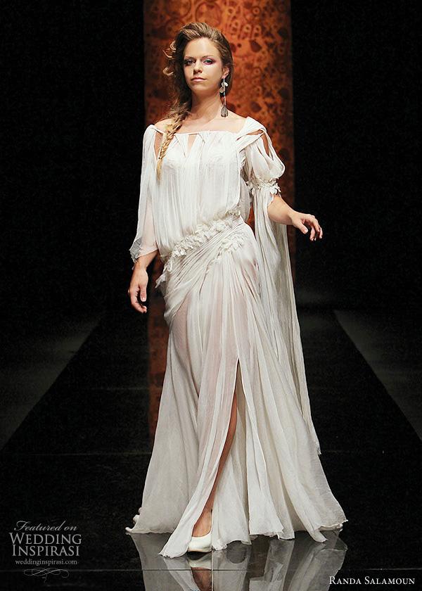 randa salamoun wedding gowns 2011 - Gelinlik Modelleri