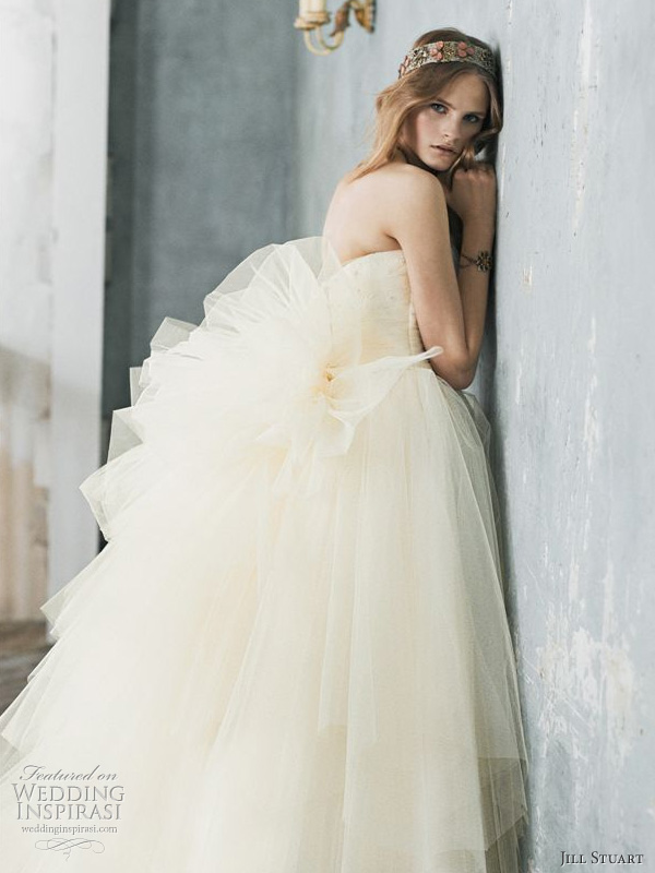 Romantic Bridal Gowns : Jill stuart romantic wedding dresses inspirasi