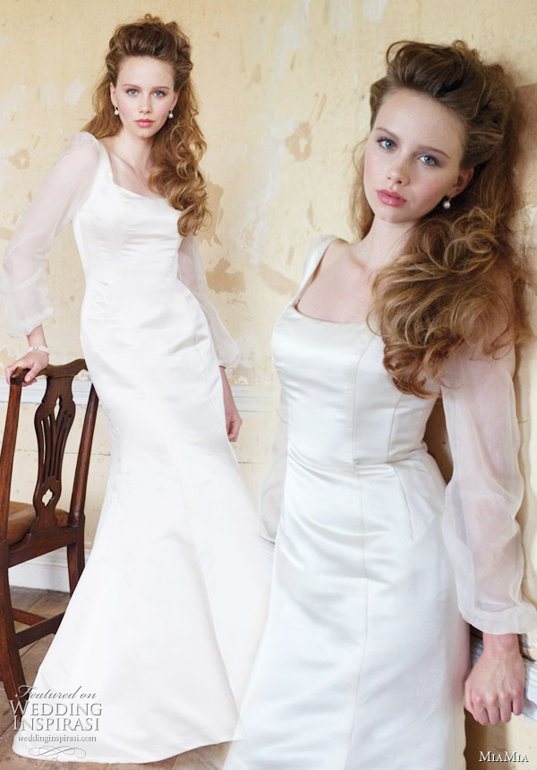 Long sleeve wedding dress Daryl by MiaMia Bridal