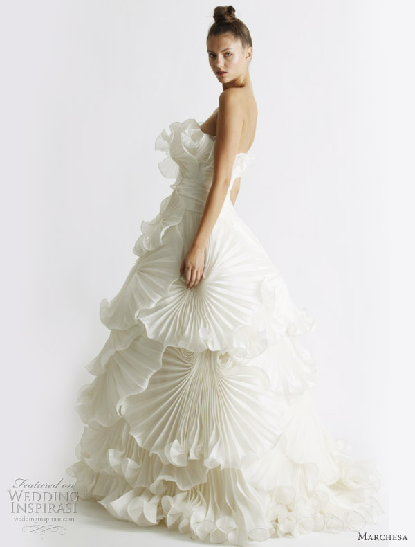 Marchesa Spring 2011 Bridal Collection Wedding Inspirasi