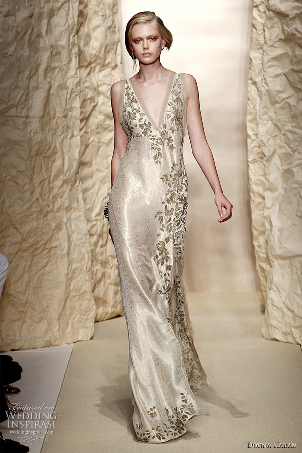 Donna karan spring summer 2011 wedding inspirasi for Ready to wear wedding dresses online