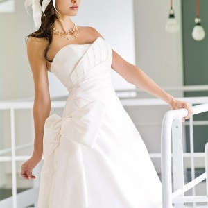 Strapless wedding gown by Francisco Reli 2011 bridal collection