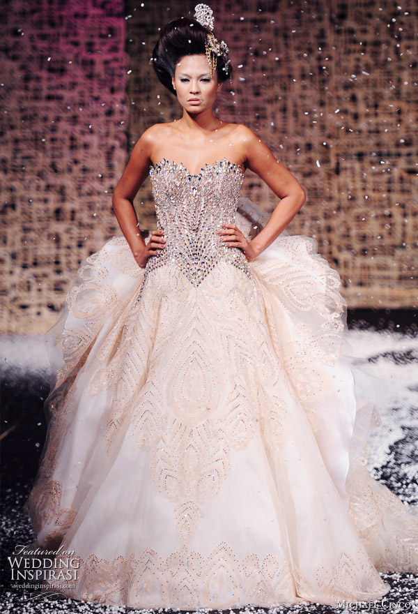 Michael Cinco Fall/Winter 2010-2011 Haute Couture Wedding gowns