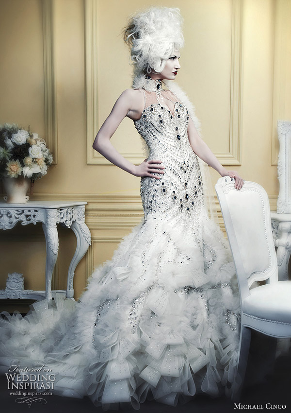 Michael Cinco Spring 2010 bridal collection