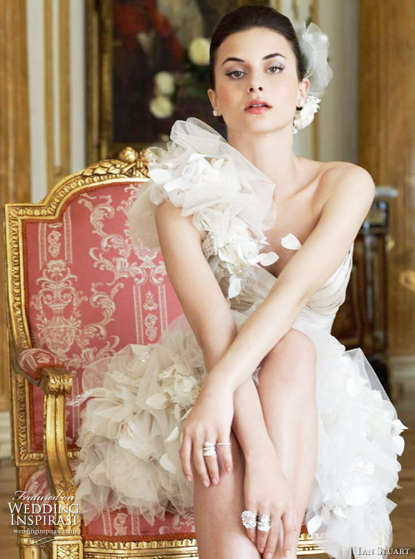 Va Va Voom wedding dress - mini bridal gown from Ian Stuart 2011 collection