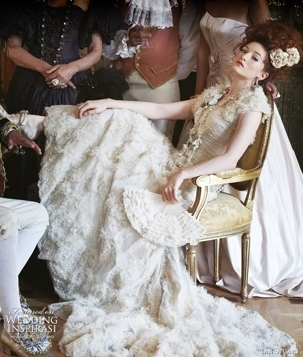Ian Stuart Lucrezia wedding gown from 2011 bridal collection