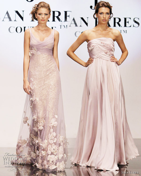 Above lovely champagne gold wedding dress adore the two dresses below