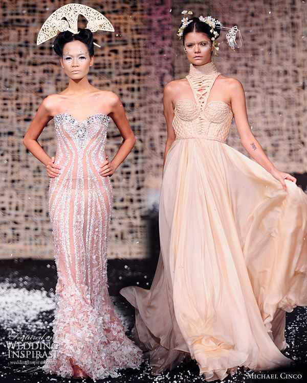 Michael Cinco Fall/Winter 2010 - 2011 haute couture collection