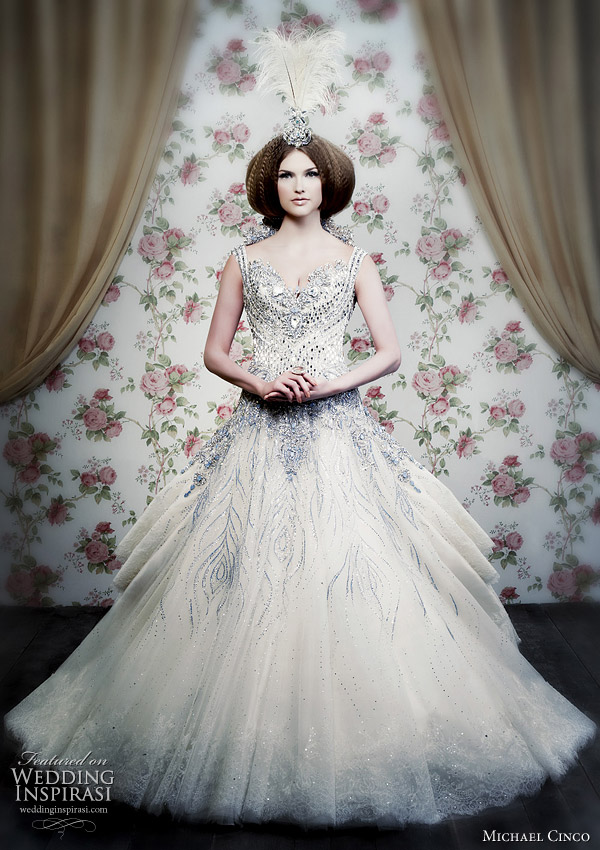 Michael Cinco wedding dresses 2010 spring summer bridal collection