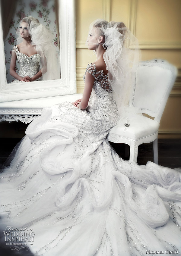 Michael Cinco wedding gowns 2010 spring summer bridal collection