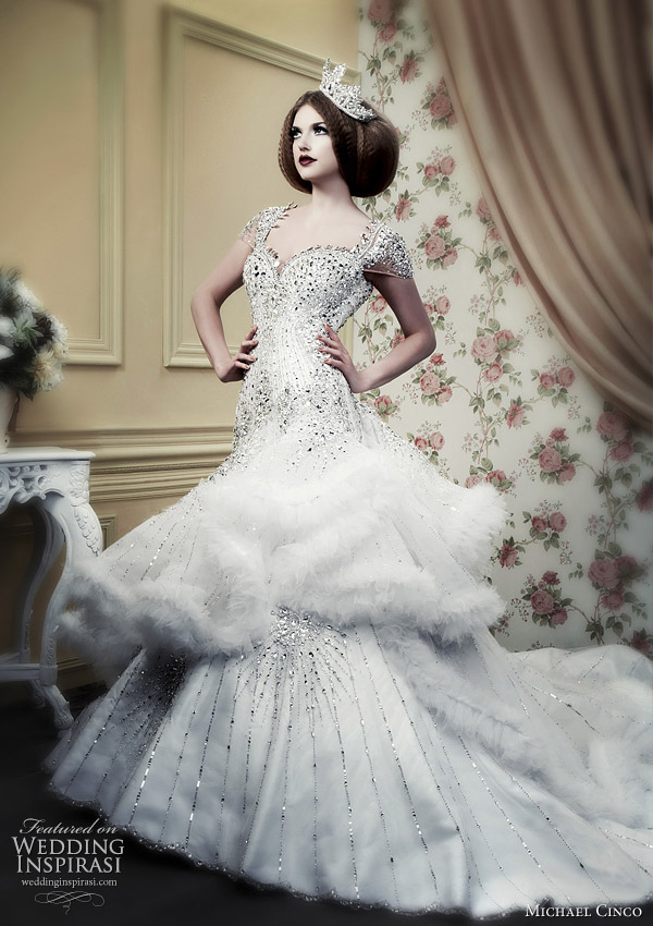 Wedding dresses 2010 spring summer bridal collection by Filipino designer Michael Cinco