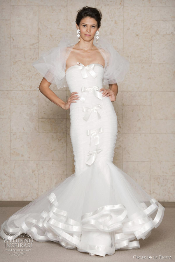 Wedding Gown Design Ideas : Oscar de la renta wedding dresses fall