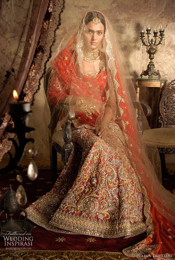 Indian Bridal Style Lehenga Choli By Tarun Tahiliani Wedding Inspirasi