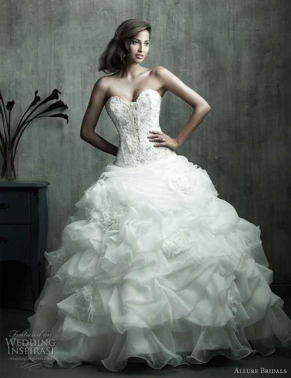 Allure Bridals Couture Wedding Dresses | Wedding Inspirasi