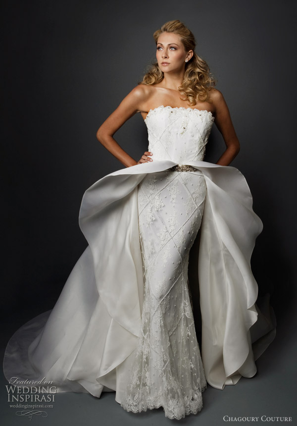 Couture Short Wedding Dresses
