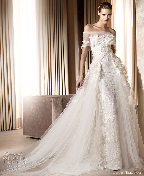 wedding dress. Classy Saga wedding dress with