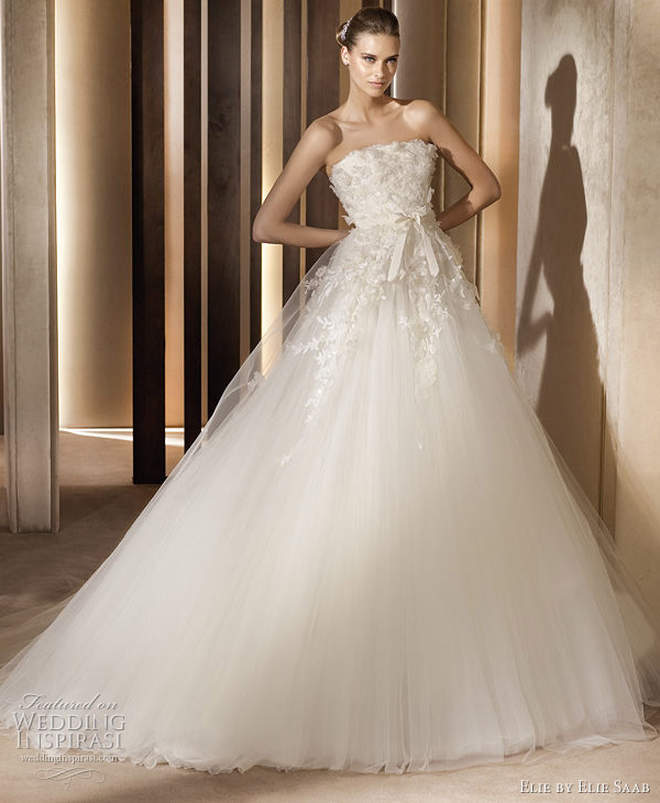 wedding dress. Laertes wedding dress by Elie