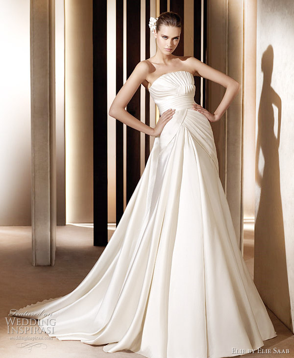 Elie Saab wedding gowns 2011 - Saga wedding dress