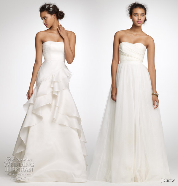 J crew wedding dresses spring 2011 wedding inspirasi for J crew wedding dresses