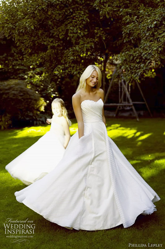 2011 wedding dresses by British Designer Phillipa Lepley