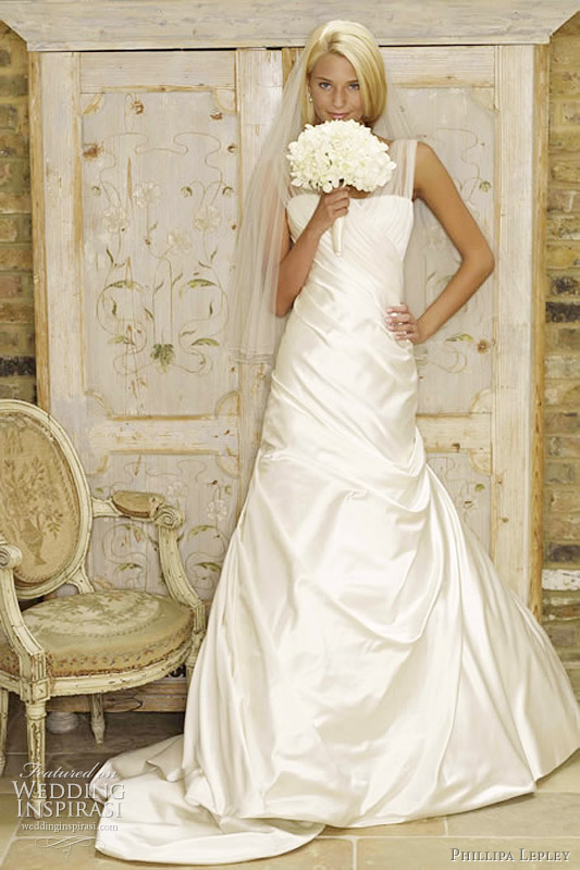 2011 Princess Tamsin wedding gown by British designer Phillipa Lepley