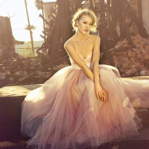 Pronuptia Wedding Dress 73 Awesome Blushing in Pink wedding