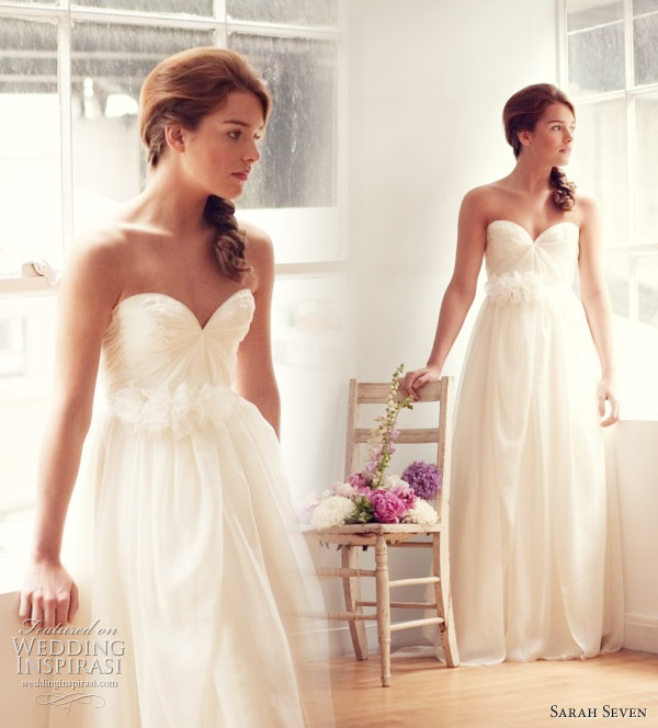 Practically perfect wedding dress by Sarah Seven  Spring 2011Sarah Seven Wedding Dresses Spring 2011   Wedding Inspirasi. Sarah Seven Wedding Dresses. Home Design Ideas
