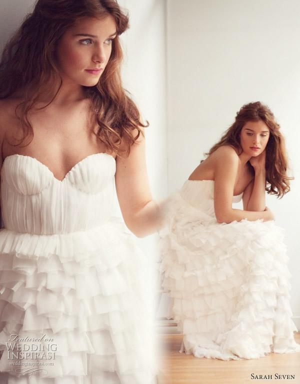 Pronuptia Wedding Dress 99 Great Sarah Seven Everthine strapless