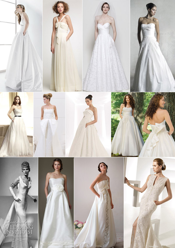 wedding dresses with sleeves and pockets. Wedding Dresses with Pockets