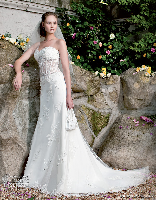 Princess ornella 2011 wedding dresses wedding inspirasi for Princess corset wedding dresses