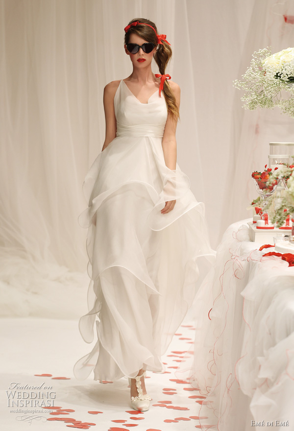 2011 Emé di Emé wedding dress