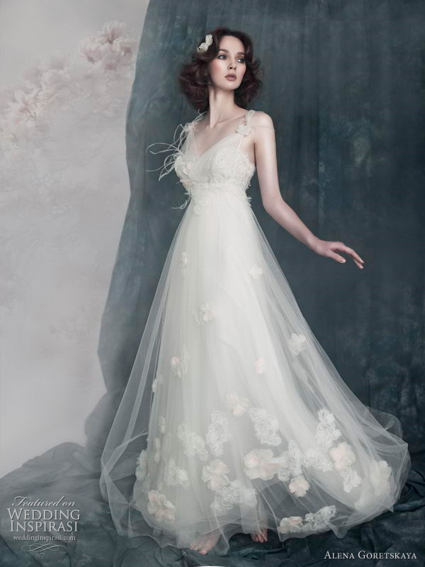 Anastasia wedding dress by Alena Goretskaya 2011 bridal gown collection