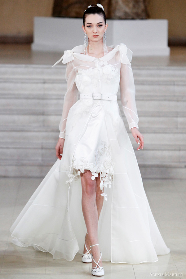 Alexis Mabille Spring/Summer 2011 couture - white wedding dress